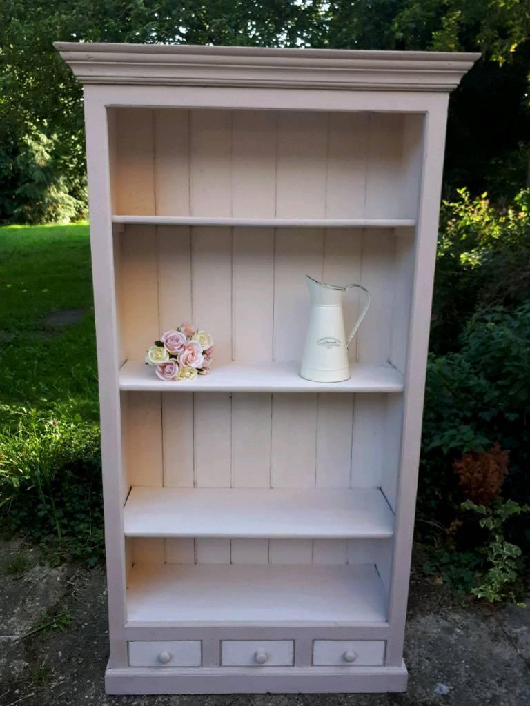 Shabby Chic Painted Bookshelf Bookcase Shelves Cabinet Dresser In Dartford Kent Gumtree