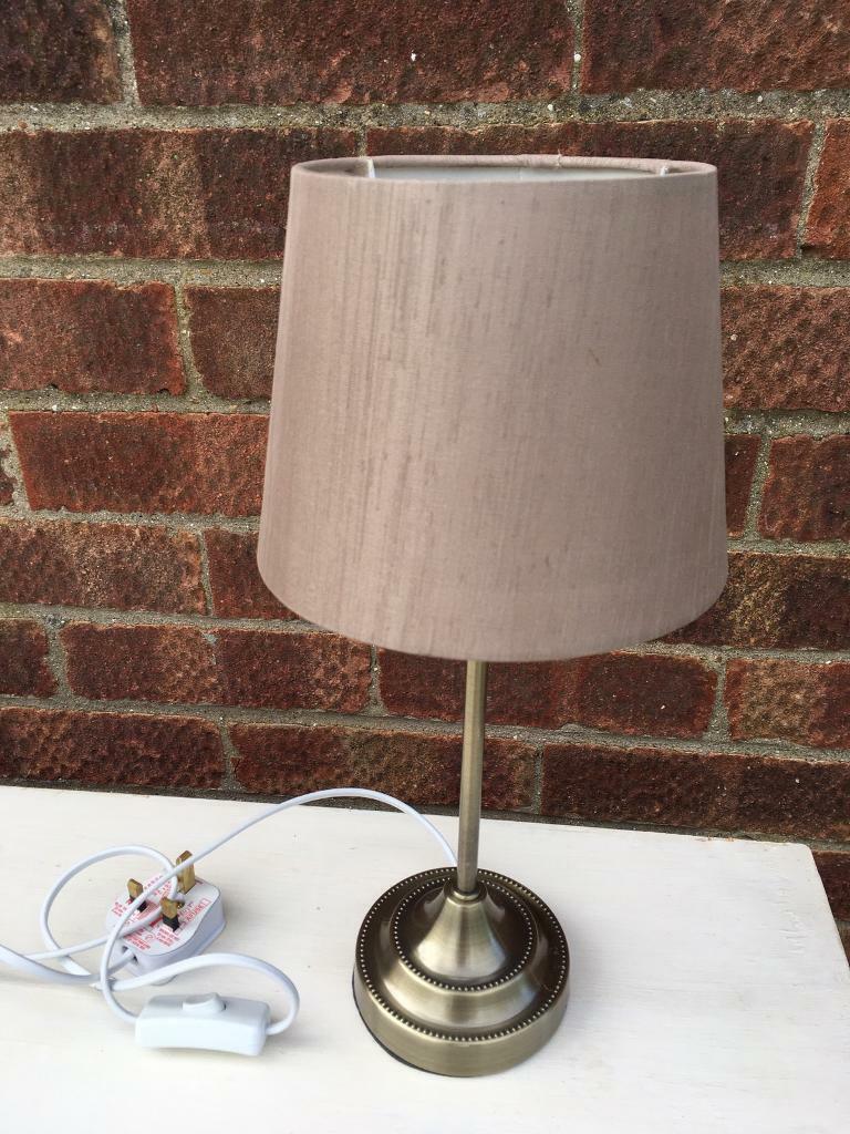 Dunelm Bedside Table Lamp In Bedford Bedfordshire Gumtree