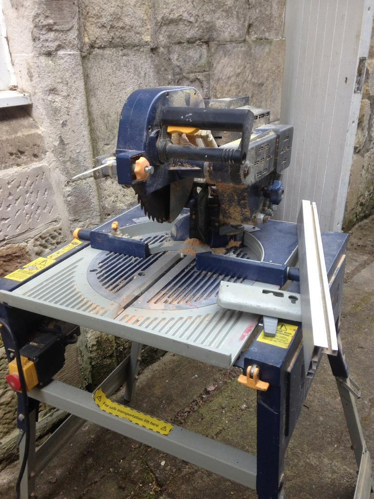 Macallister Electric Rip Over Table Saw For Spares Or Repair