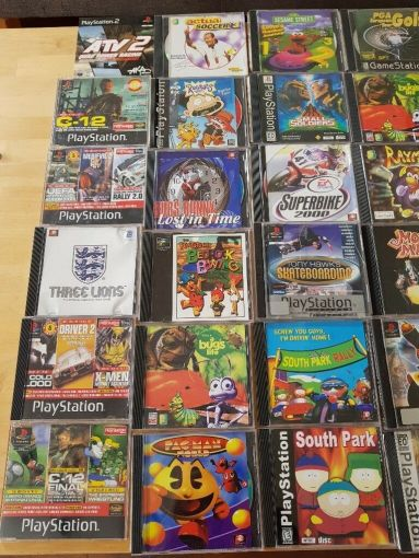 Playstaion 1 Games PS1  48x games  Crash Bandicoot  Spyro  Tony     Playstaion 1 Games PS1  48x games  Crash Bandicoot  Spyro  Tony Hawks