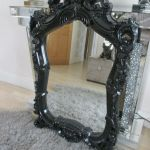 Stunning Decorative Dunelm Rococo Baroque Black Gloss Wall Mirror In Walton Merseyside Gumtree