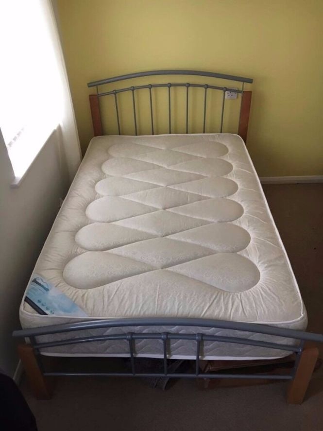 Brand New 3 4 Bed Frame And Extra Comfort Mattress Cost 360 5 Weeks