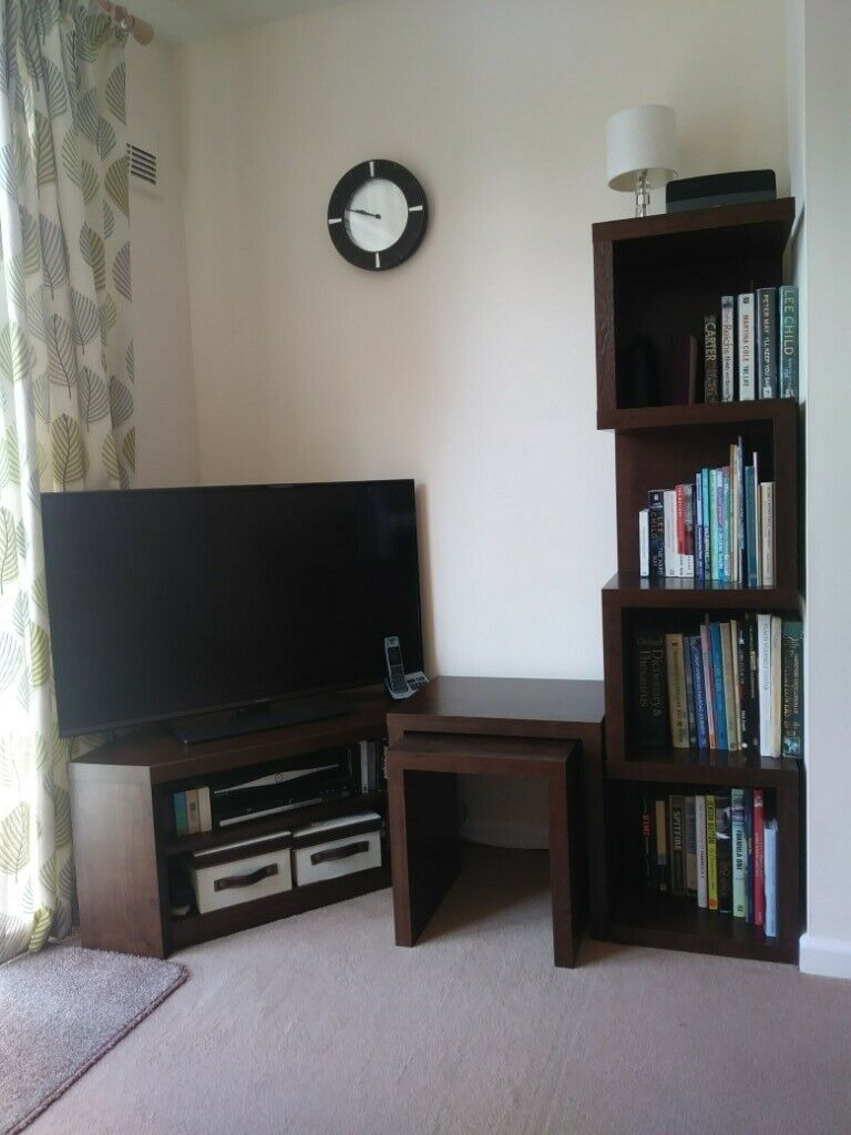 Reduced Next Tv Stand Bookcase Plus Nest Of 2 Tables In Barton Under Needwood Staffordshire Gumtree