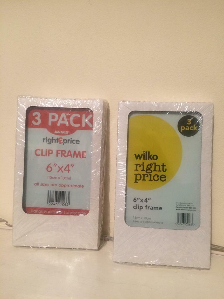 3fd6fcac69a 2 X 3 Pack Of Wilkinson Clip Frames In Bow London Gumtree