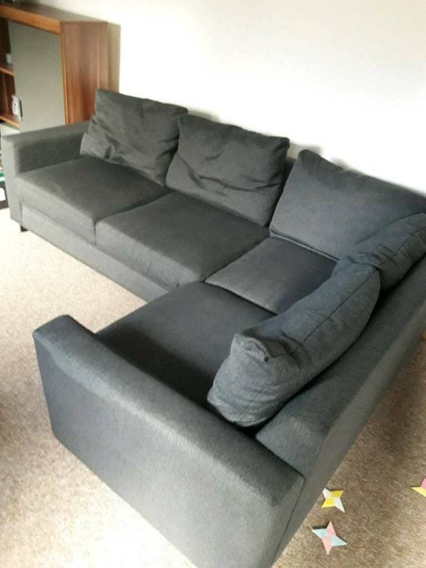 Corner Sofa Bed In Very Good Condition Grey