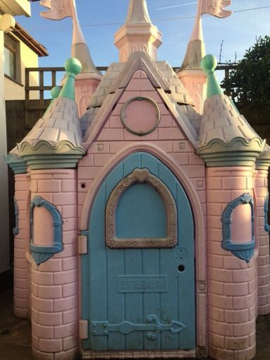 Disney Castle Outdoor playhouse   in Liverpool  Merseyside   Gumtree Disney Castle Outdoor playhouse