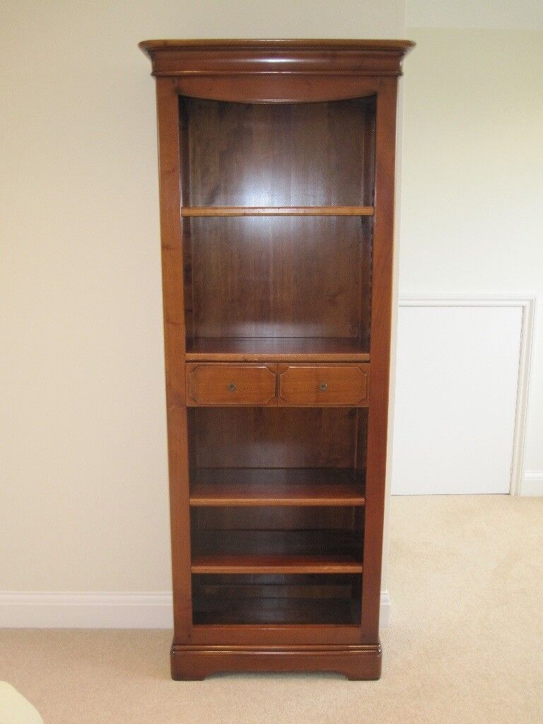 Wesley Barrell Anjou Bookcase Bookshelf Unit High Quality Solid Cherry Wood In Richmond London Gumtree