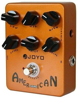 Digital American Sound Guitar Amp Effects Pedal Guitar Instrument 57 Deluxe Tool