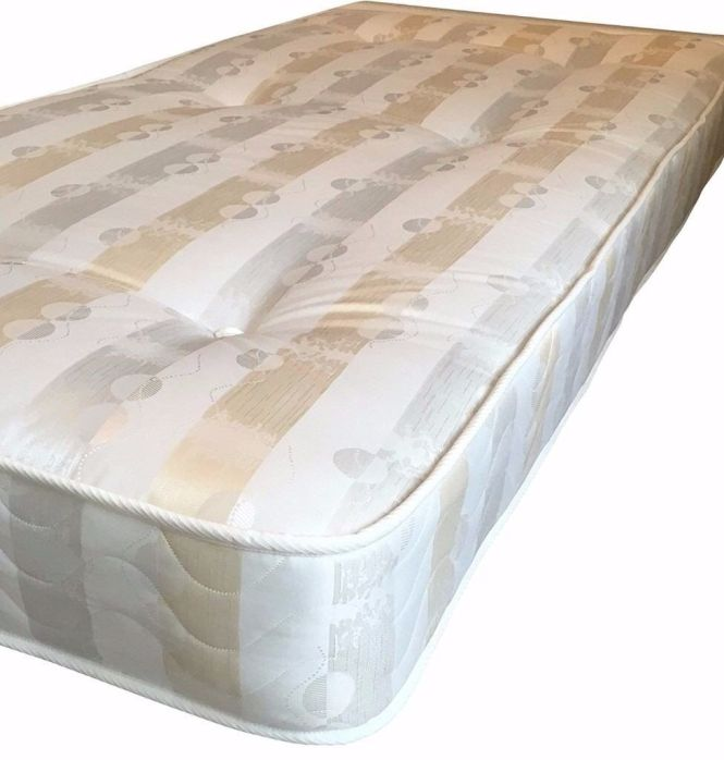 3ft X 5ft 9 Short Single Mattress 90 175 Micro Quilted Used