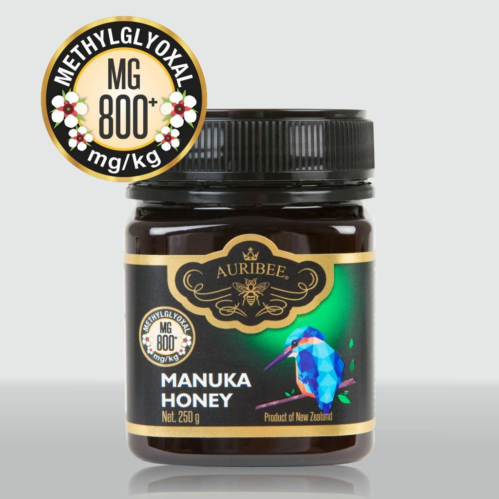 Auribee®  Manukahonig MGO 800+  , Manuka Honig , Original aus Neuseeland, 250 g