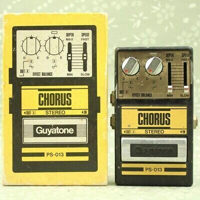 Guyatone PS-013 Stereo Chorus With original box MIJ Vintage effect pedal 8318236
