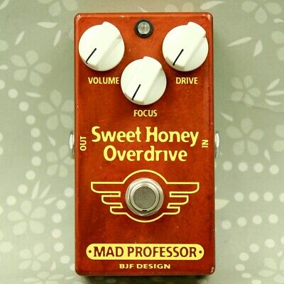 Mad Professor Sweet Honey Overdrive SHOD BJF Design Guitar effect pedal 1102260