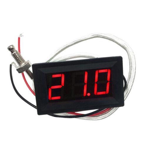 LED Autothermometer Innen/Außen DC 12V Auto KFZ Thermometer Digital