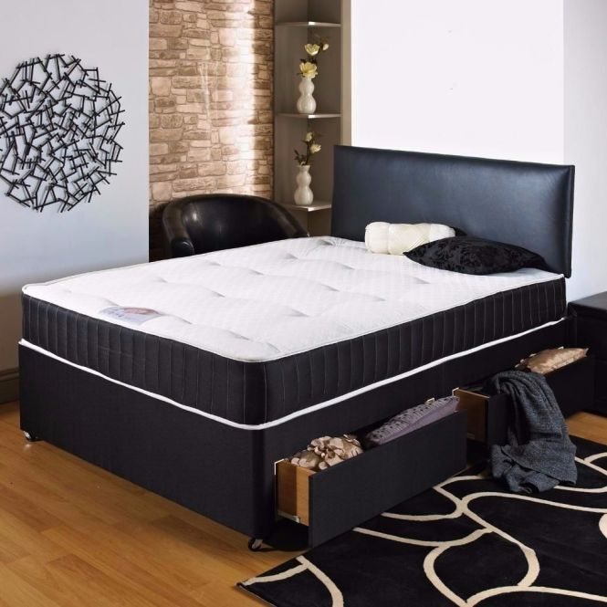 Fantastic Design Brand New Double Divan Bed Set With Memory Foam Mattress 135 Only Free Delivery