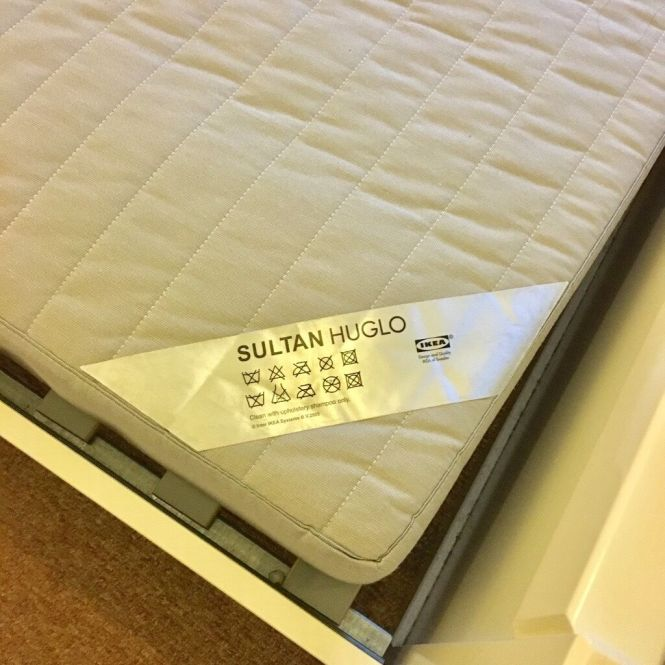 Ikea Hemnes Bed Frame And Sultan Huglo Mattress For Together