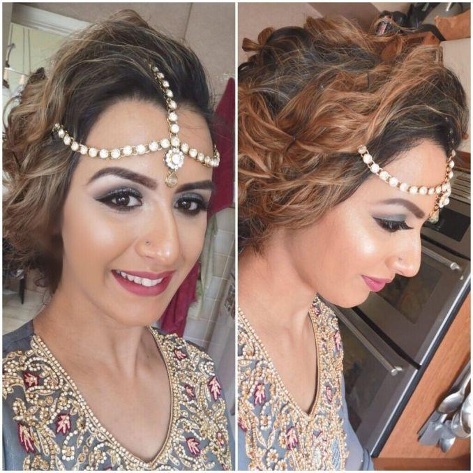 professional makeup artist & hair stylist (bridal / party