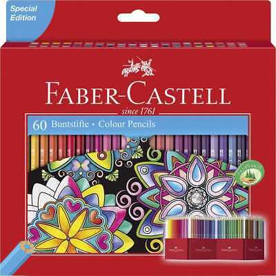 Faber-Castell Buntstifte Castle 60 Farben im Kartonetui WOW