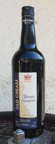 Sherry Nachbargebiet LITER  Navarro Old Cream Oloroso Navarro Spanien 18% vol.