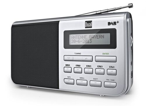 Dual DAB 4.1 Tragbares Digitalradio DAB+ UKW Tuner Radio Musik Audio