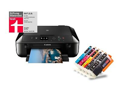 Canon PIXMA MG5750 Tintenstrahl-Multifunktionsgerät schwarz 3in1 USB Duplex WLAN