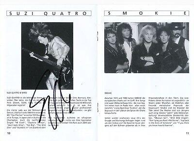 Suzi Quatro  in Musik Programmheft original signiert 407069