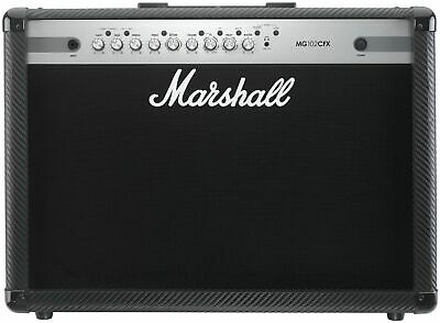 Marshall MG102CFX Carbon Fibre 100 watt Guitar Amplifier with Effects