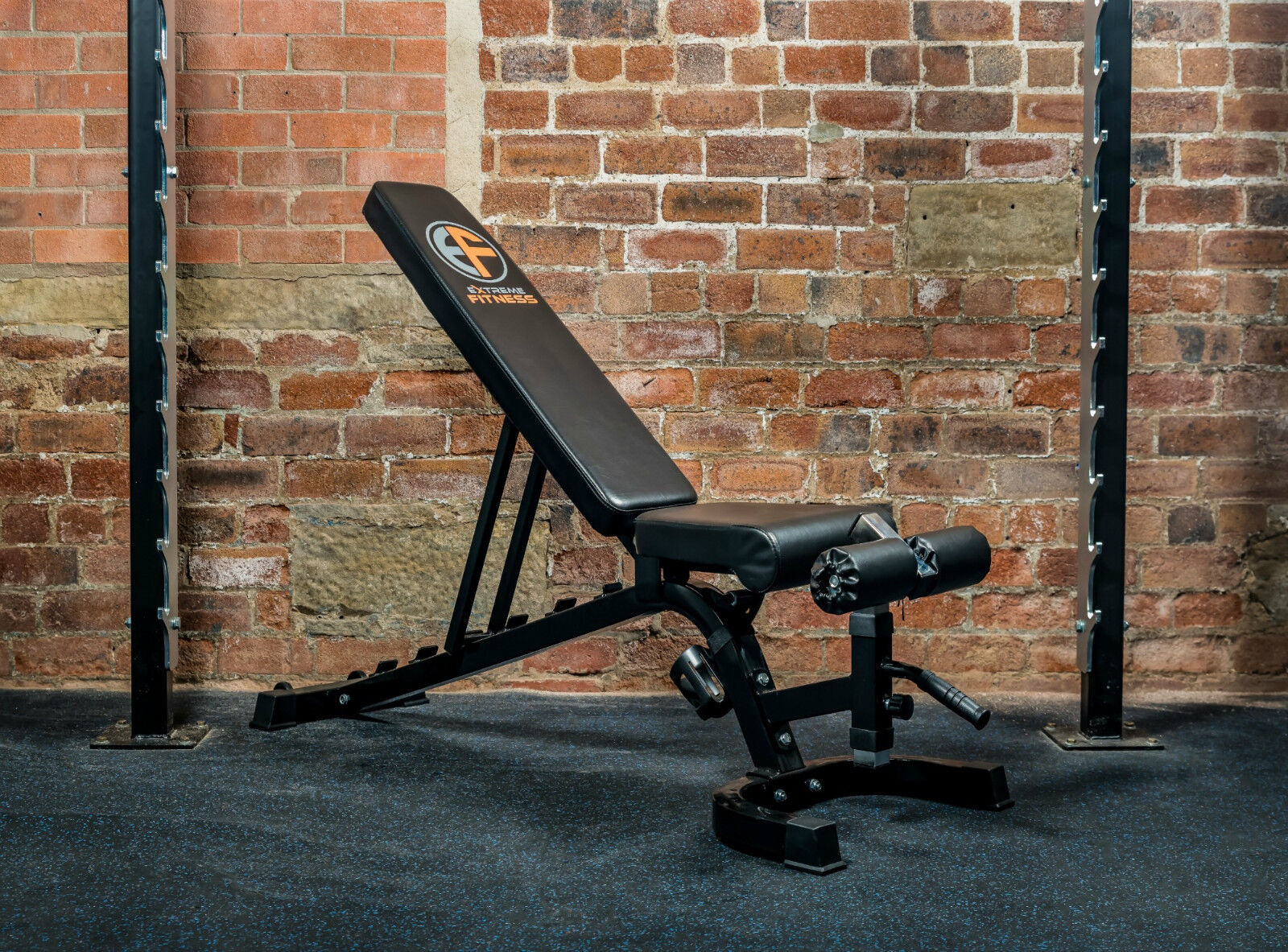 Extreme Fitness 174 Weight Bench Adjustable Fid Flat Incline