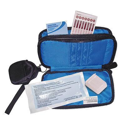 Diabetiker-Tasche, Diabetikertäschchen, Diabetes Bag von Dittmann blau