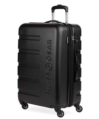 "Swiss Gear 7366 23"" Expandable Hard Side Shell Case Spinner Luggage"