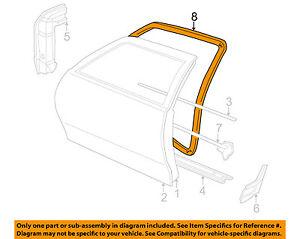 Cavalier Weatherstrip: Parts & Accessories | eBay