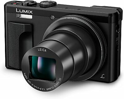 Panasonic ZS60 LUMIX 4K Digital Camera 18.0 MP Black
