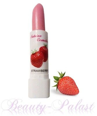 Lippenbalsam Erdbeer Duft Lippenpflege mit Fruchtaroma Pflegestift Lippenstift