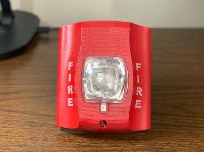 System Sensor SRK Fire Alarm Remote Strobe Red Wall (No Mounting Bracket)