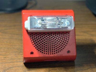 Wheelock ET70WP-2475W Fire Alarm Speaker/Strobe Wall Red
