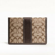 COACH SIGNATURE CARD CASE
