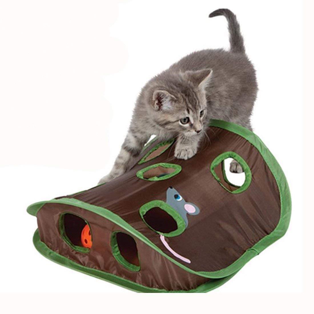 Katzenspielzeug set katzen Maus Rattenloch Interaktives Spielzeug Cat Toy