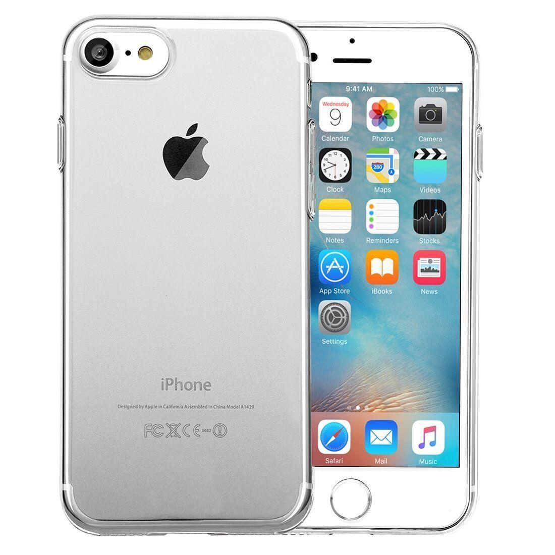 Apple iPhone 6S Hülle / 6 Hülle Silikon Transparent Handyhülle Case Bumper Cover