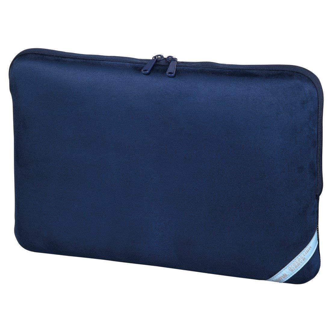 Hama Notebooktasche 17.3 Zoll Laptop Tasche Case blau Laptoptasche Sleeve Blau