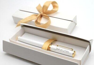 Metall Kugelschreiber Kuli Stift mit Ihrer Gravur Personalisiert + Geschenkbox