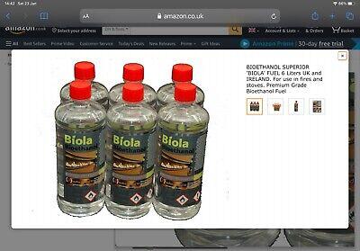 Bioethanol Fuel - 26 Litre Bottle bulk buy - 1 Litre Units