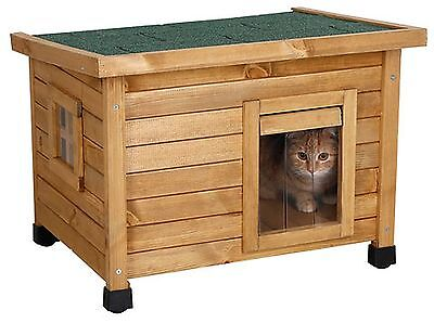 Katzenhaus Hundehütte kleine Hunde Rustica Outdoor Haus wetterfest Katzenhöhle