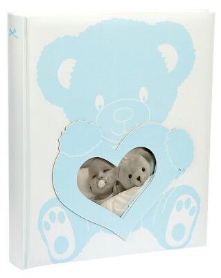 Baby Wonderland Fotoalbum 29x32 cm 60 Seiten: Blau