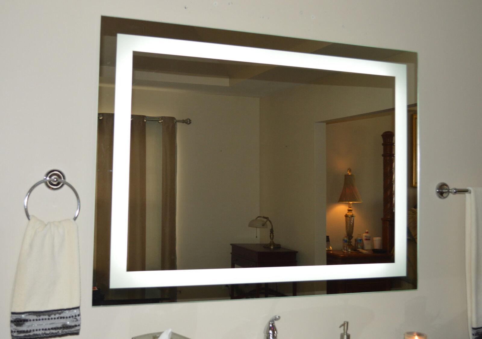 Lighted Bathroom Vanity Mirror, Led , Wall Mounted, 48