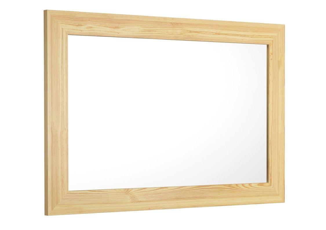 Wandspiegel Garderobenspiegel Holzrahmen 59x89 eckig Holzspiegel 90.90-91