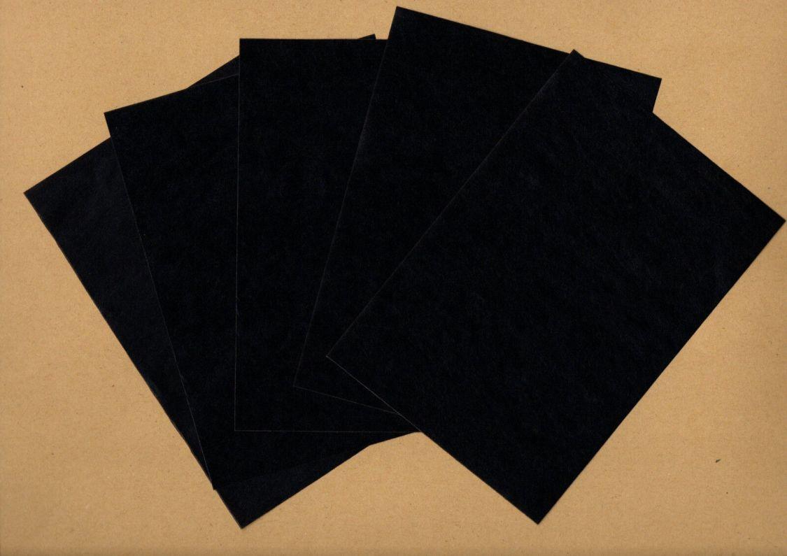 20 BÖGEN DIN/A5 (21 x 14,8 cm) KOHLEPAPIER - PAUSPAPIER - DURCHSCHREIBEPAPIER