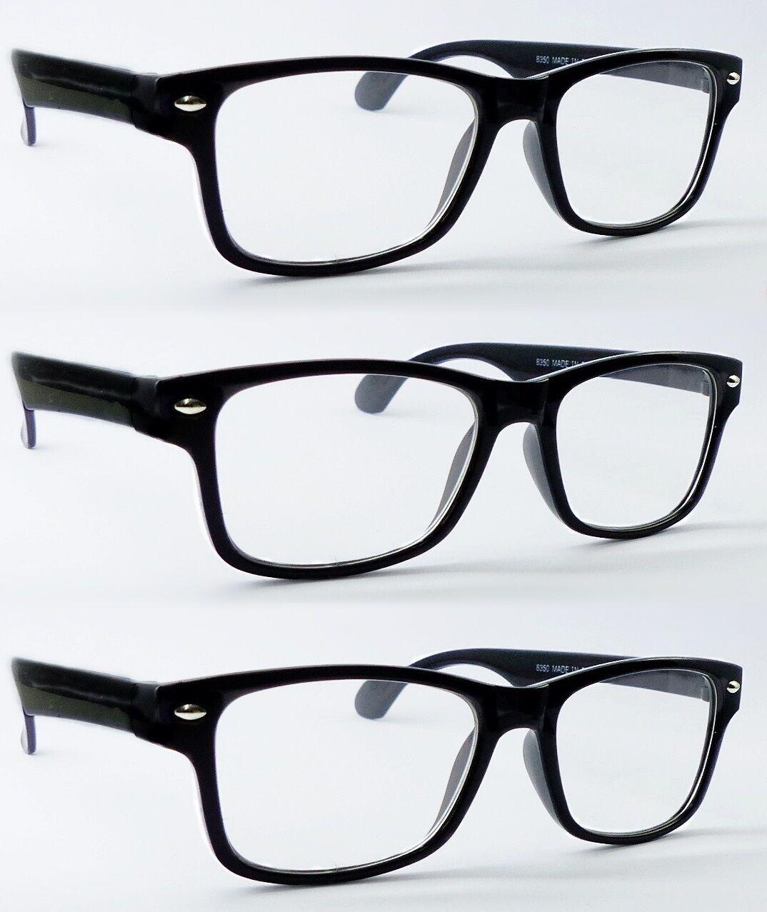 Lesebrille Nerd-Brille Lesehilfe Sehhilfe DPT: +1,00 +1,50 +2,00+2,50 3,5 M8350