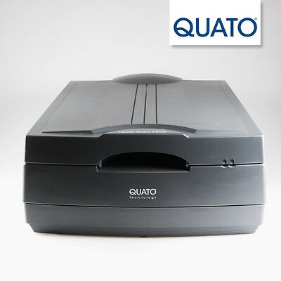 QUATO Intelli Scan 1600 A3-Scanner Mittelformat Dia Negativ XRay Röntgen
