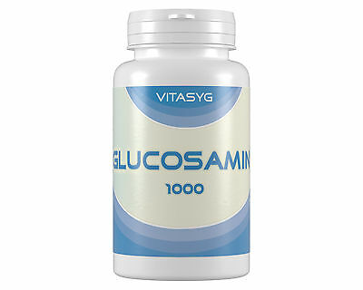 (5,02€/100g)Vitasyg Glucosamin 1000 - 2x180 Tabletten Glucosamine Sulfat