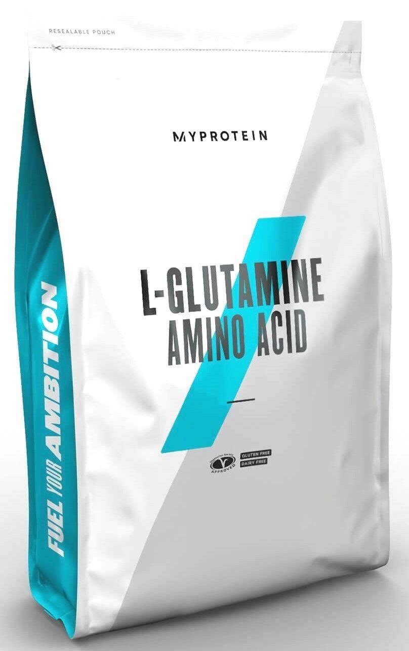Glutamin MyProtein L-Glutamine 1kg Beutel Aminosäuren L-Glutamin BCAA Amino