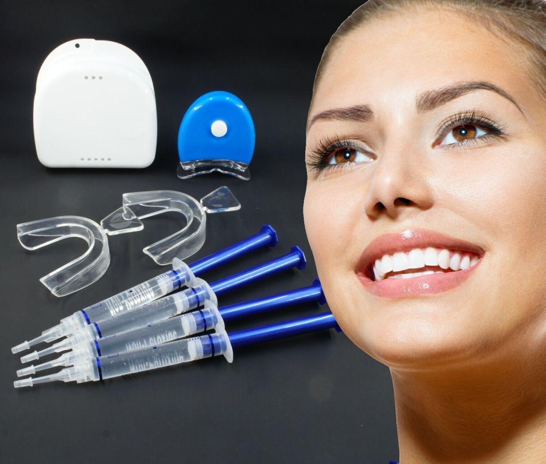 Profi Bleaching Set - Zahnbleaching Zahn Aufhellung Zahnweiß Gel für weiße Zähne